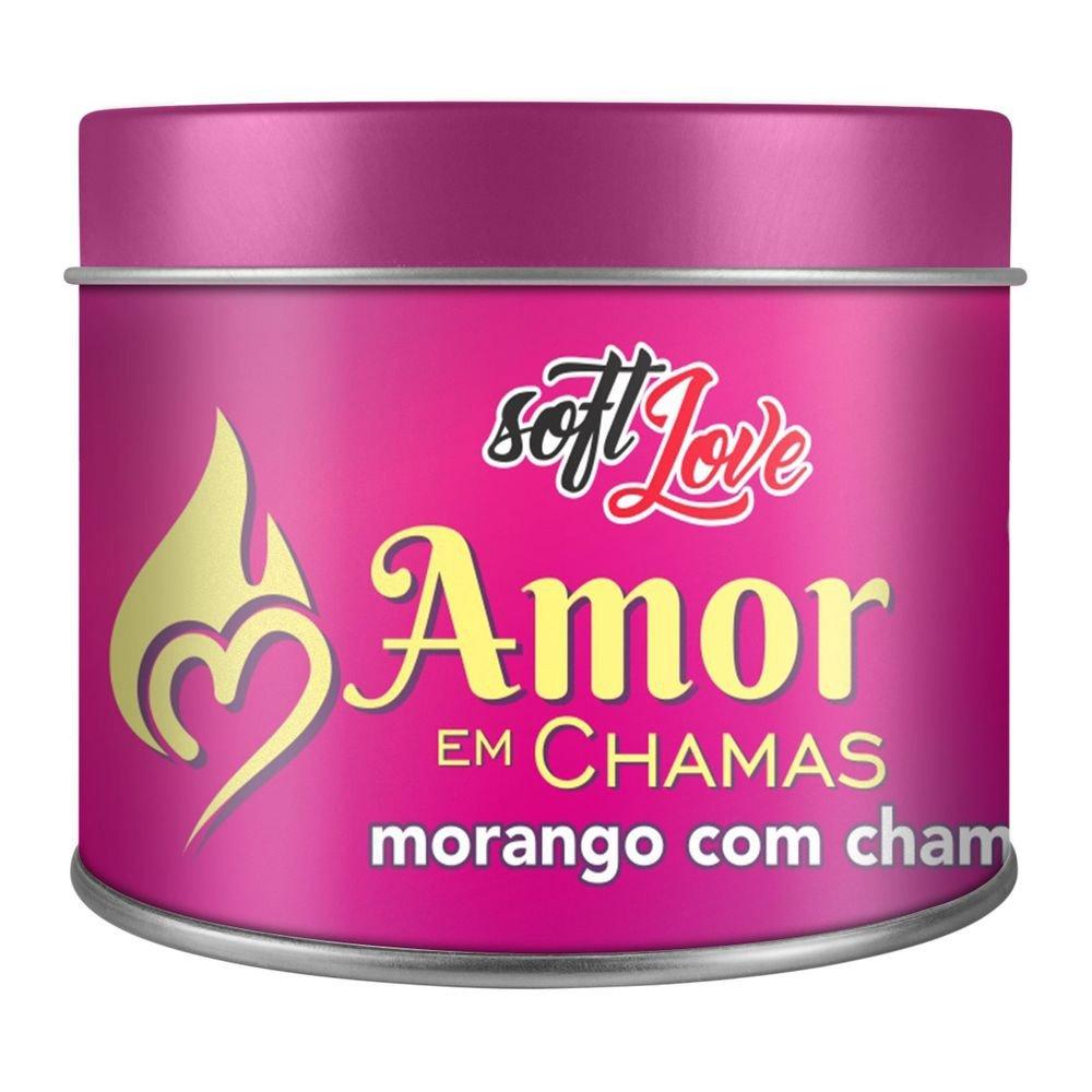 Amor em Chamas Vela Hot Beijável 50gr