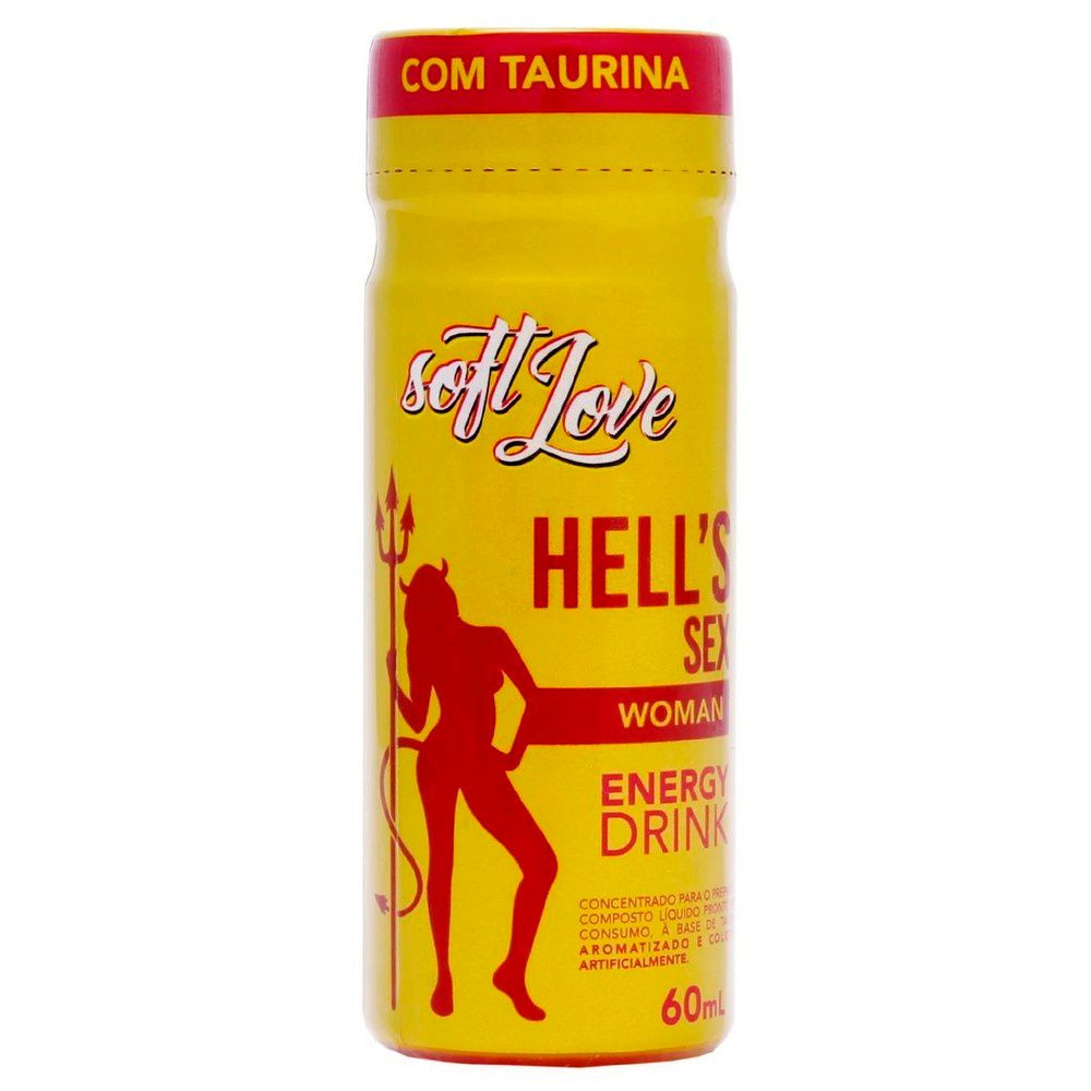 Energético Hells Sexy Drink for Woman 60ml
